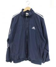 adidas(アディダス)の古着「ナイロンジャケット」|ネイビー