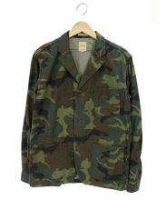 Sanca(サンカ)の古着「3Bテーラードジャケット」|オリーブ