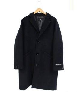 HARE(ハレ)の古着「チェスターコート」|ブラック