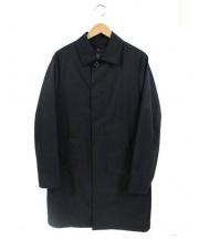 MACKINTOSH(マッキントッシュ)の古着「シンダウンライナー付ステンカラーコート」 ブラック