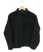 JOURNAL STANDARD(ジャーナルスタンダード)の古着「PLATINUM MELTON K-FIELD」 ブラック