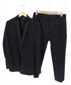 ato(アトウ)の古着「2Bセットアップスーツ」|ブラック