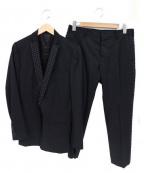 ato(アトウ)の古着「2Bセットアップスーツ」 ブラック