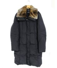 ANDREW MARC(アンデュリューマーク)の古着「ダウンコート」|ブラック