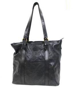 SINAI(シナイ)の古着「レザートートバッグ」|ブラック