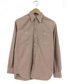 AT LAST&CO(アットラストアンドコー)の古着「ワークシャツ」|ベージュ