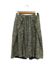 McQ Alexander McQueen(マックキュー アレクサンダーマックイーン)の古着「バックジップツイードスカート」