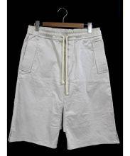 au courrant paris(オウクーランパリ)の古着「Paneled Shorts」|アイボリー
