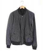 JOURNAL STANDARD(ジャーナルスタンダード)の古着「リバーシブルMA-1ジャケット」 グレー