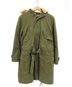 RALPH LAUREN(ラルフローレン)の古着「ライナー付モッズコート」|オリーブ