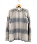 STEPHAN SCHNEIDER(ステファン・シュナイダ)の古着「チェックシャツ」|グレー
