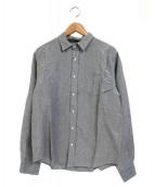 Frank&Eileen(フランクアンドアイリーン)の古着「コットンリネンシャツ」|ライトグレー
