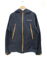 Columbia(コロンビア)の古着「マウンテンズアーコーリング�ジャケット」 ブラック×オレンジ