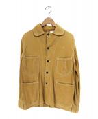 -(-)の古着「ワークデニムジャケット」