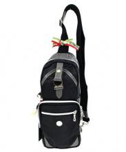 Orobianco(オロビアンコ)の古着「ボディーバッグ」|ブラック×グレー