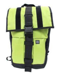 MISSION WORKSHOP(ミッションワークショップ)の古着「ランブラーバックパック」 ブラック×黄緑