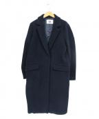 SLY(スライ)の古着「WOOLコクーンTAILOR LONG COAT」|ネイビー