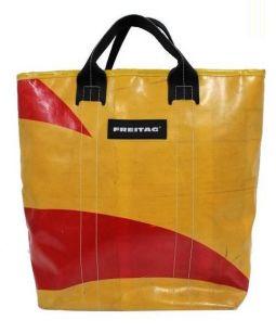 FREITAG(フライターグ)の古着「2WAYショルダーバッグ」|イエロー×レッド