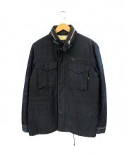 ALPHA×LEE(アルファ×リー)の古着「デニムM65ジャケット」|インディゴ