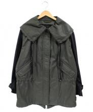 COACH(コーチ)の古着「ナイロンジャケット」|カーキ×ブラック