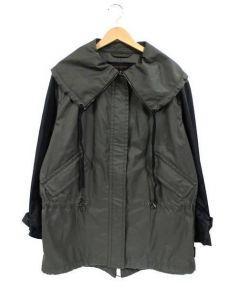 COACH(コーチ)の古着「ナイロンジャケット」 カーキ×ブラック