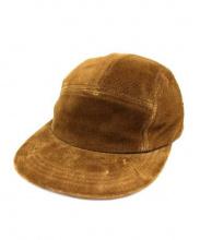 Hender Scheme(エンダースキーマ)の古着「スウェードキャップ」|ブラウン
