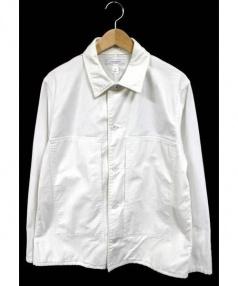 LIVING CONCEPT(リビングコンセプト)の古着「カバーオール」|ホワイト