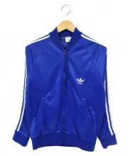 adidas(アディダス)の古着「トラックジャケット」|ブルー