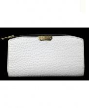 BURBERRY(バーバリー)の古着「ラウンドファスナー長財布」|ホワイト