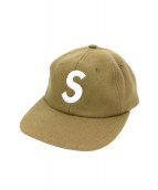 SUPREME(シュプリーム)の古着「Wool S Logo 6-Panel」|ベージュ