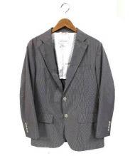 MACKINTOSH PHILOSOPHY(マッキントッシュフィロソフィー)の古着「テーラードジャケット」|ブラウン×ネイビー