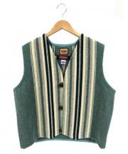 CENTINELA(センチネラ)の古着「チマヨベスト」|グリーン×ホワイト
