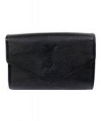 YVES SAINT LAURENT sacs(イヴサンローラン)の古着「ヴィンテージクラッチバッグ」|ブラック