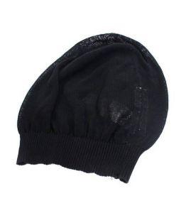 RICK OWENS(リックオウエンス)の古着「ニットビーニー」|ブラック