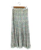 JUNYA WATANABE CDG(ジュンヤワタナベ コムデギャルソン)の古着「総柄マキシスカート」|マルチカラー