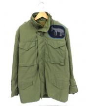 dahlia(ダリヤ)の古着「ライナー付M65ジャケット」|オリーブ