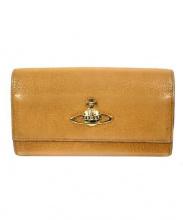 Vivienne Westwood(ヴィヴィアンウエストウッド)の古着「長財布」|キャメル