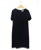 Anatelier(アナトリエ)の古着「半袖ワンピース」|ブラック