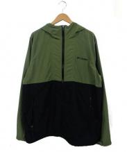 Columbia(コロンビア)の古着「ヘイゼンジャケット」|カーキ×ブラック