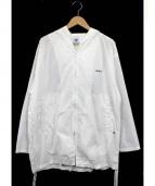 GDC(ジーディーシー)の古着「ジップアップフーディ」|ホワイト