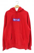 SUPREME(シュプリーム)の古着「box logo pullover hooded sweat」