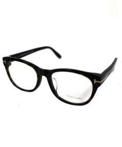 TOM FORD(トム フォード)の古着「伊達眼鏡」 ブラック×ブラウン