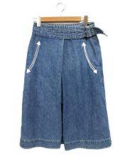 sacai(サカイ)の古着「デニムスカート」|インディゴ