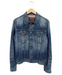 ADRIANO GOLDSCHMIED(アドリアーノ ゴールドシュミット)の古着「デニムジャケット」|ライトブルー