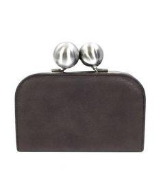 Kawa-Kawa(カワカワ)の古着「がま口財布」|グレー