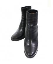 sante borella(サンテボレッラ)の古着「ショートブーツ」|ブラック