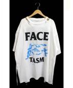 FACETASM(ファセッタズム)の古着「BACK OPENDED BIG TEE」|ホワイト