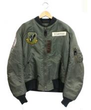 Buzz Ricksons(バズリクソンズ)の古着「MA-1ジャケット」 カーキ