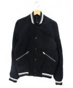 Paul smith JEANS(ポールスミスジーンズ)の古着「メルトンスタジャン」|ブラック