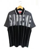 SUPREME(シュプリーム)の古着「半袖ポロシャツ」|ホワイト×ブラック
